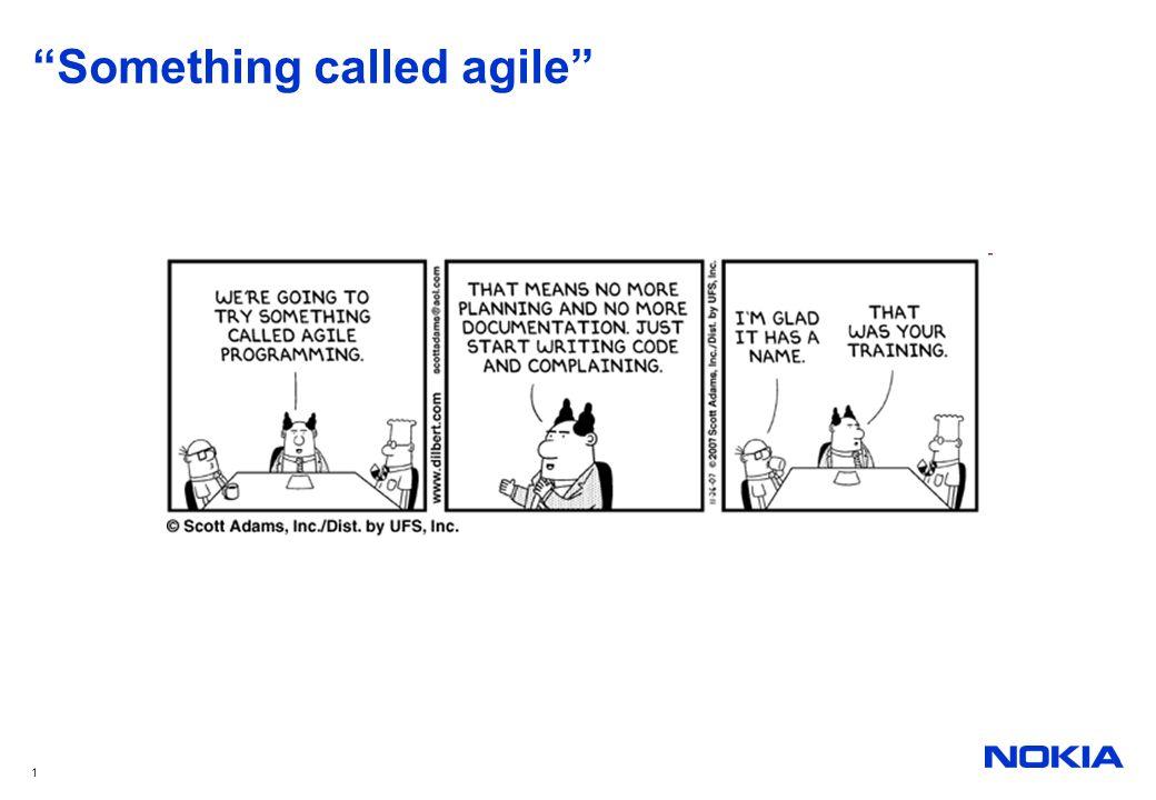 Something called agile