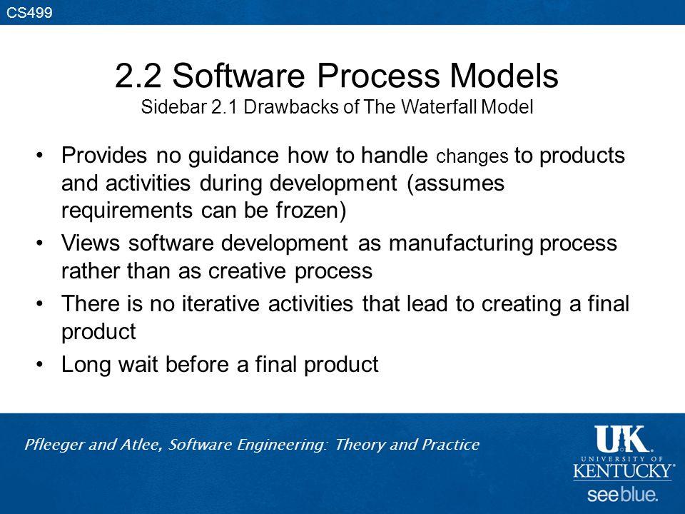 2. 2 Software Process Models Sidebar 2