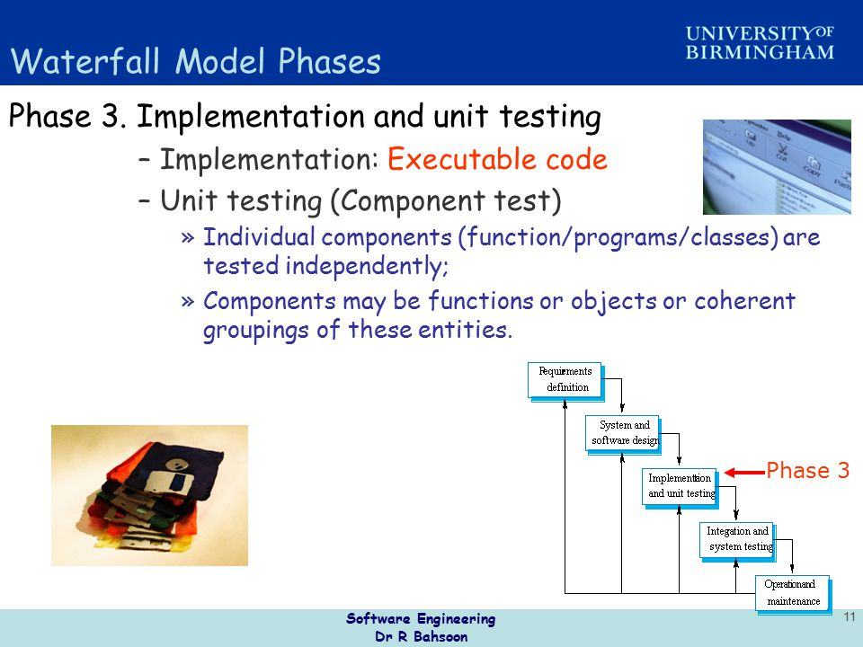 Unit 2 software lifecycle ppt video online download for Waterfall phases