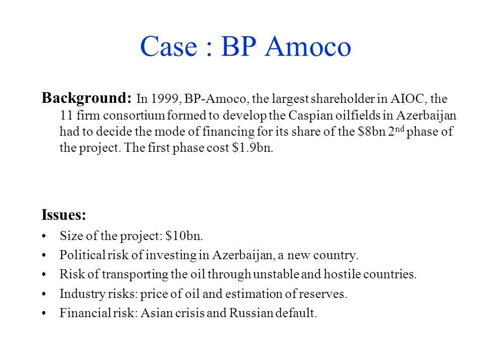 Case : BP Amoco
