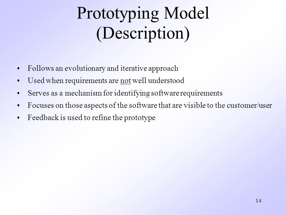 Prototyping Model (Description)