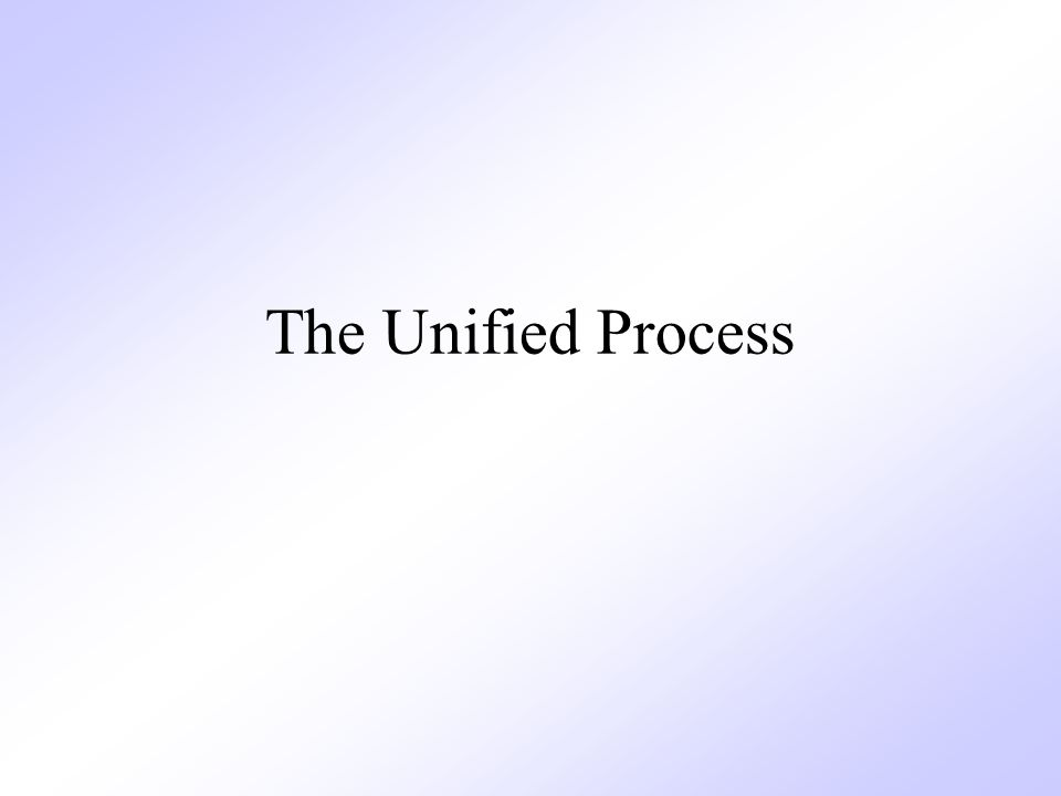 The Unified Process