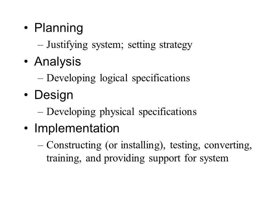 Compare And Contrast The Terms Phases Steps Techniques And Deliverables As Used In