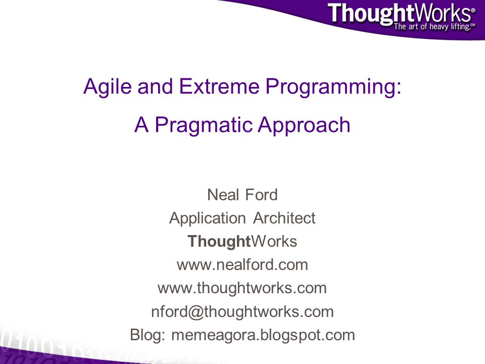 Agile and Extreme Programming: A Pragmatic Approach