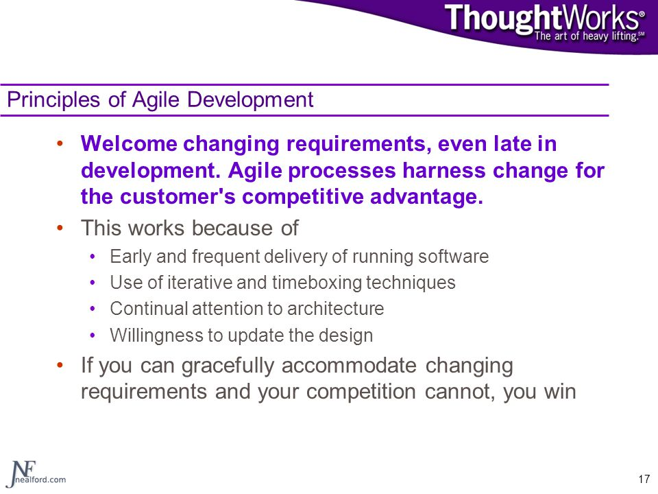 Principles of Agile Development