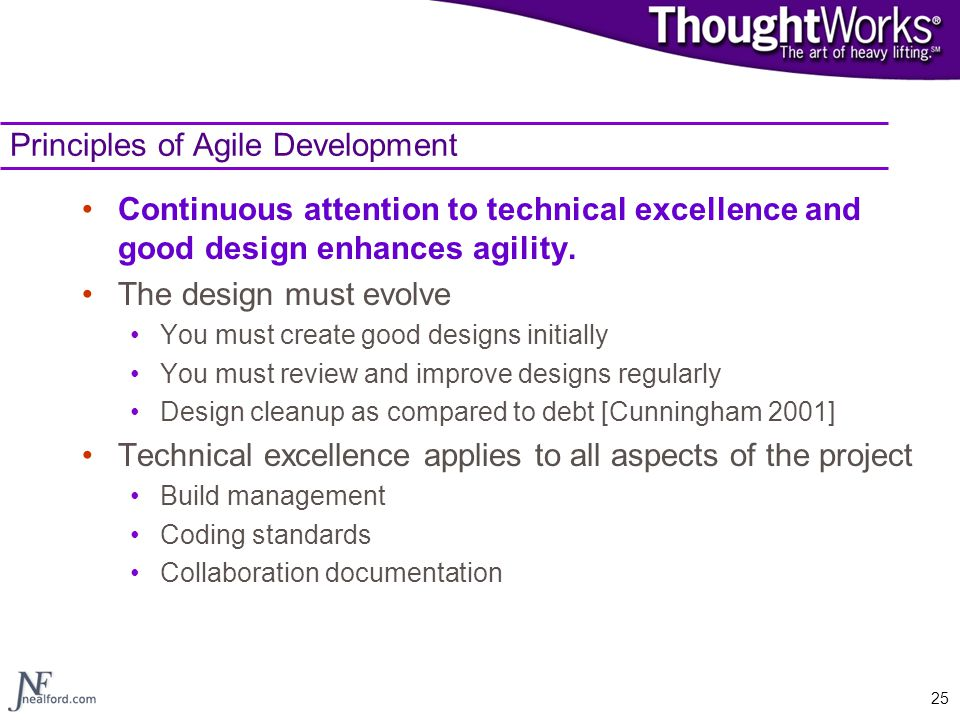 Principles of Agile Development