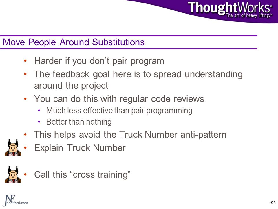Move People Around Substitutions