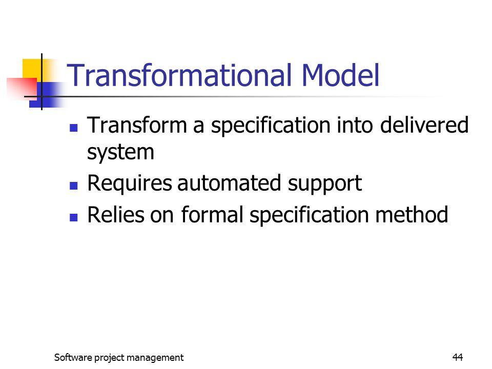 Transformational Model