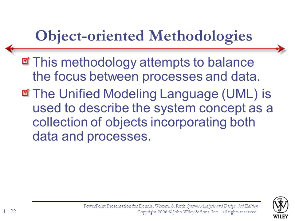 Object-oriented Methodologies