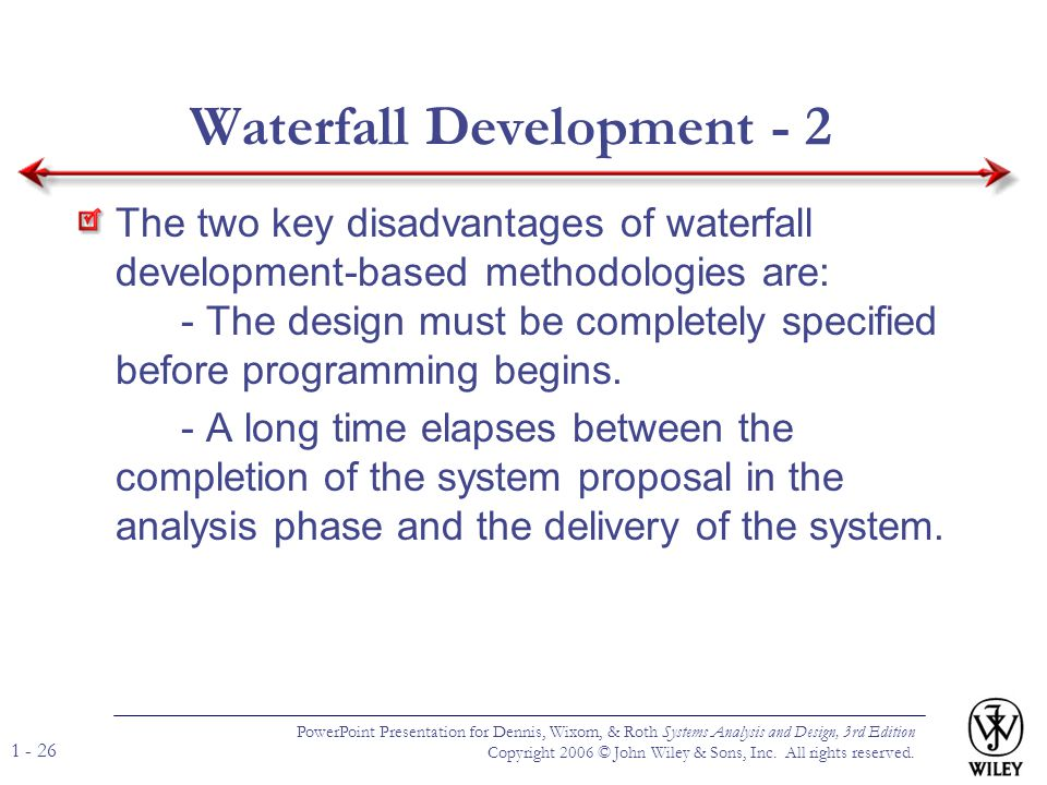 Waterfall Development - 2