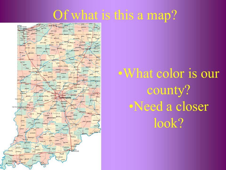What color is our county