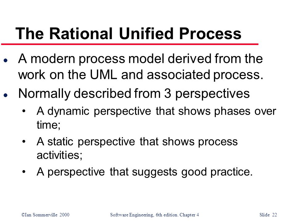 The Rational Unified Process