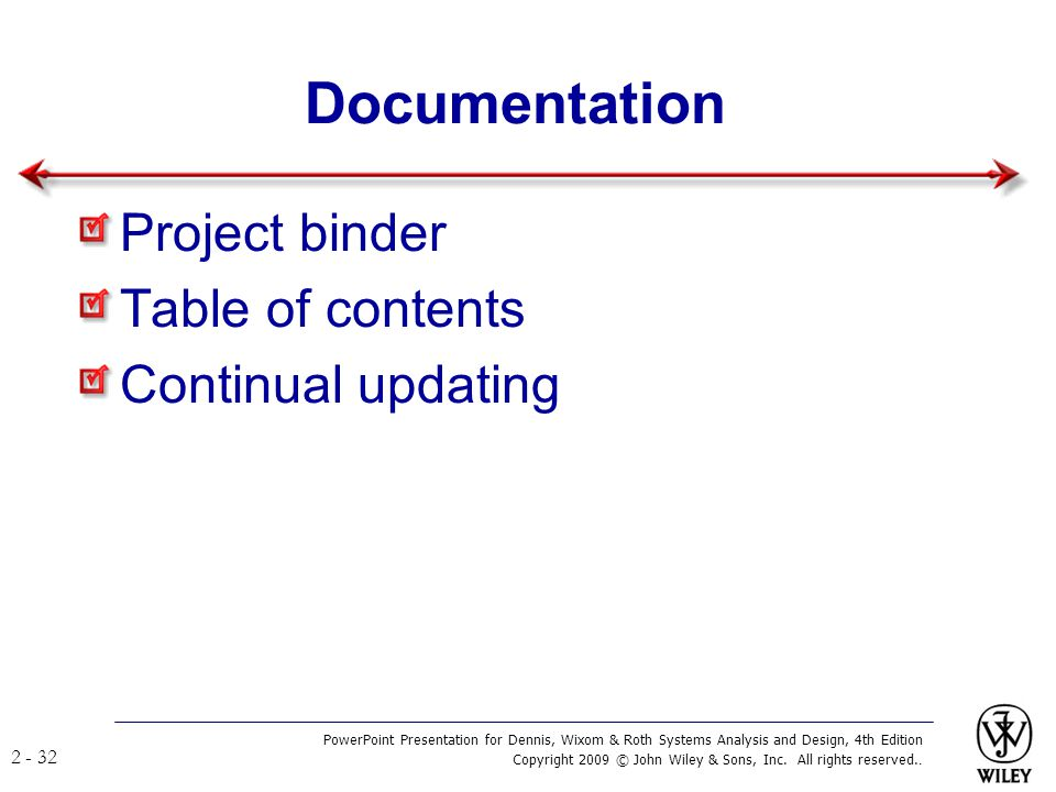 Documentation Project binder Table of contents Continual updating