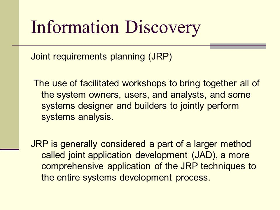 Information Discovery