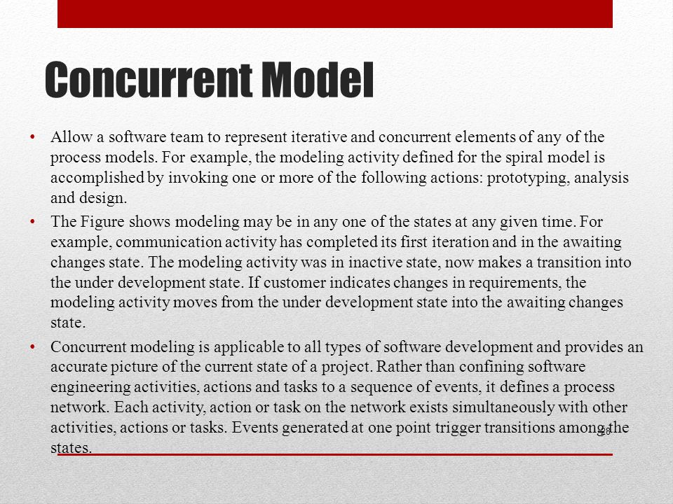 Concurrent Model