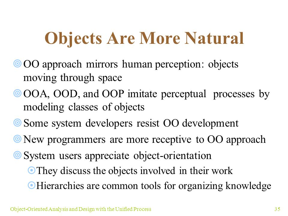 Objects Are More Natural