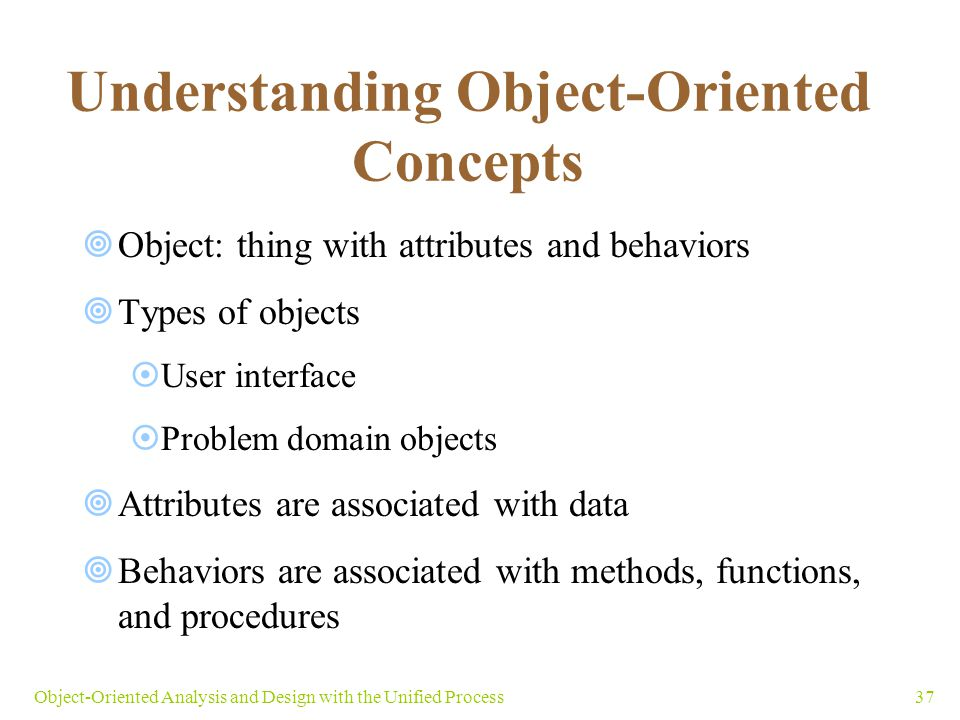 Understanding Object-Oriented Concepts