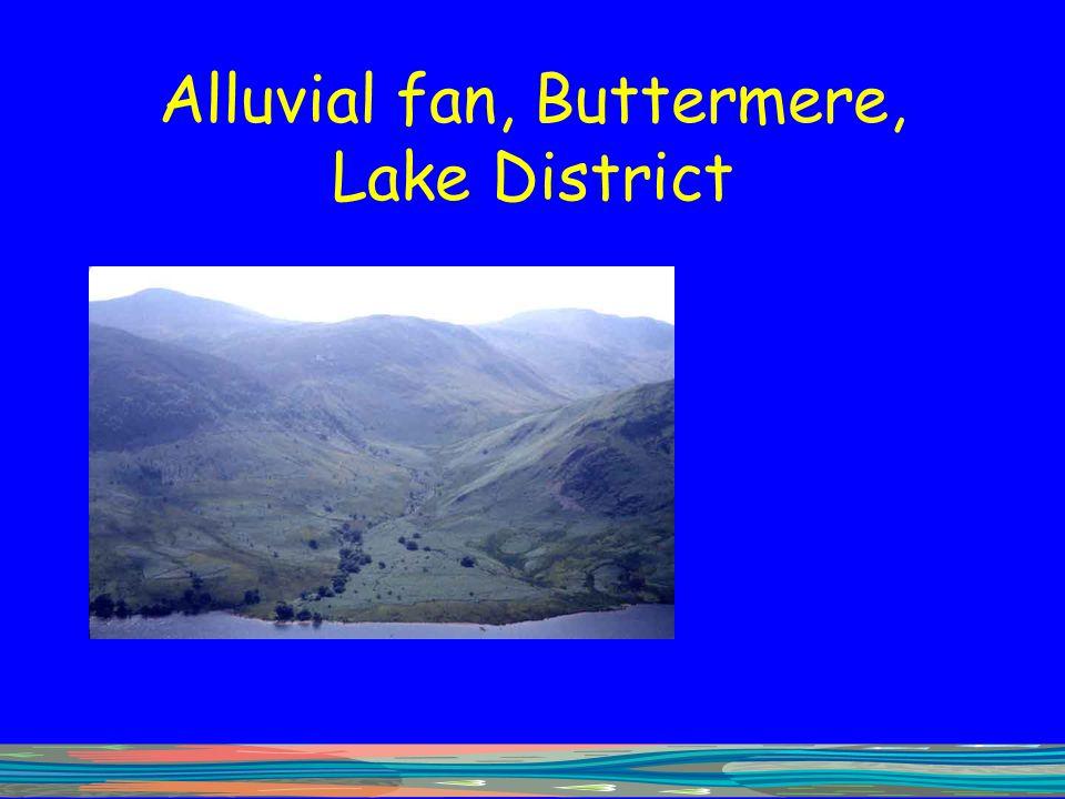 Alluvial fan, Buttermere, Lake District