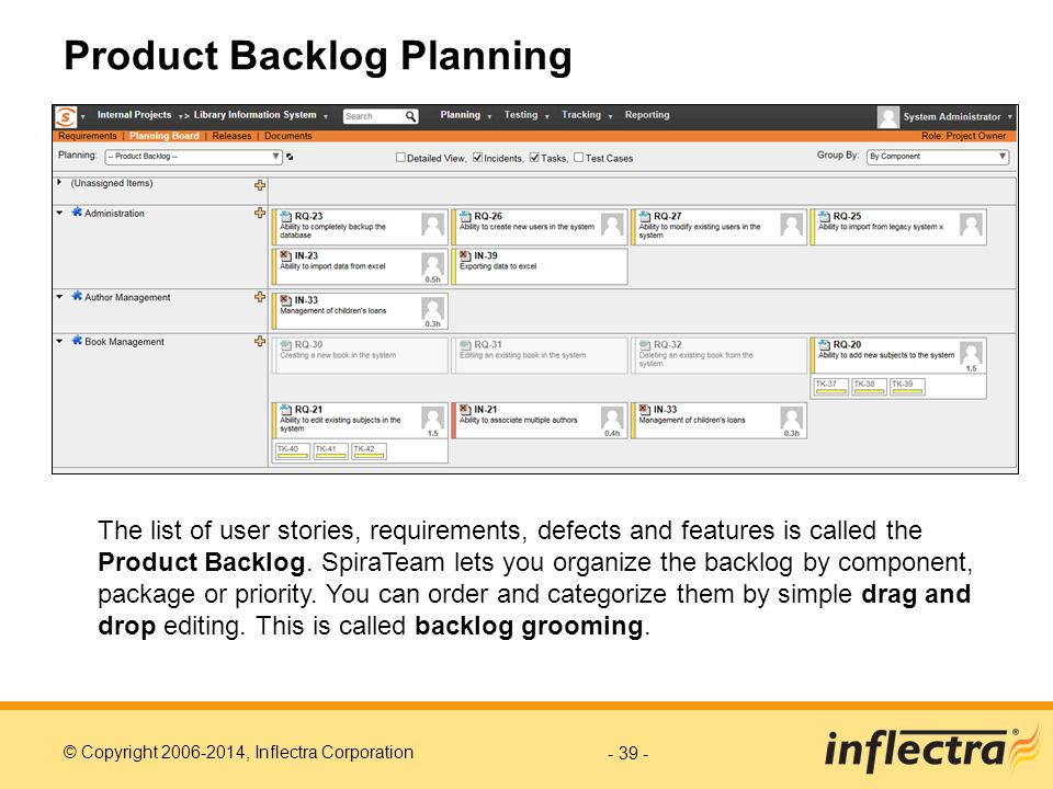 Product Backlog Planning