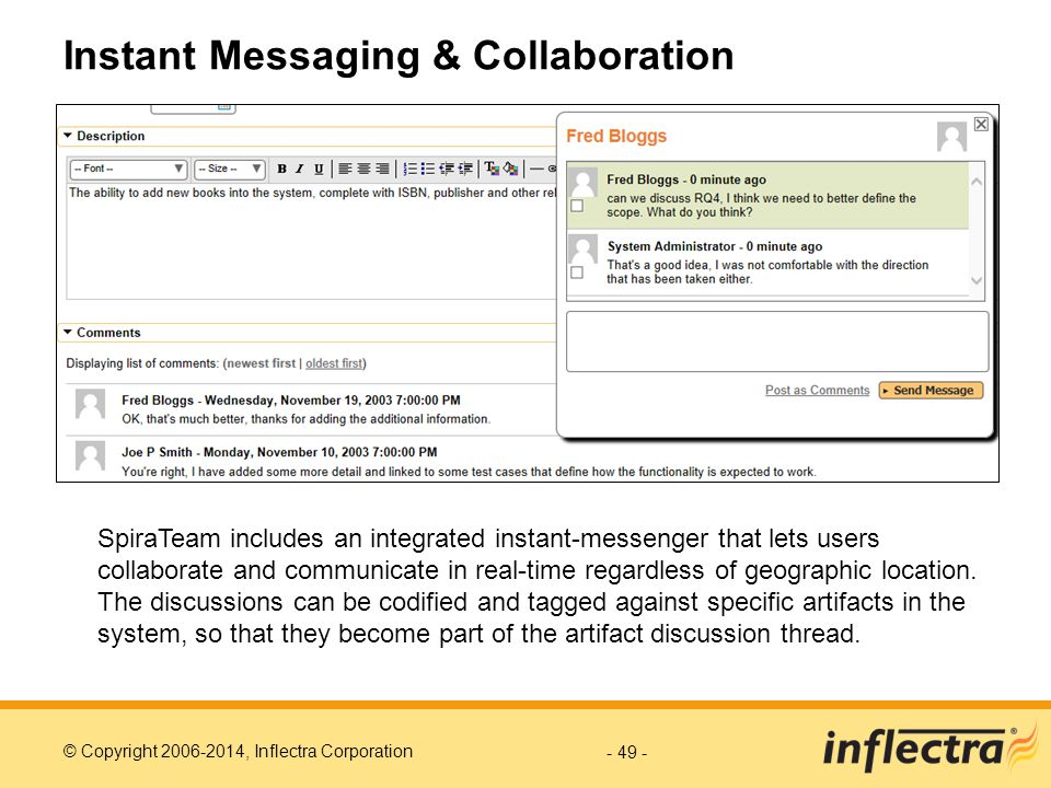 Instant Messaging & Collaboration