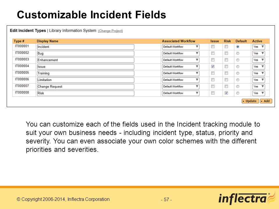 Customizable Incident Fields