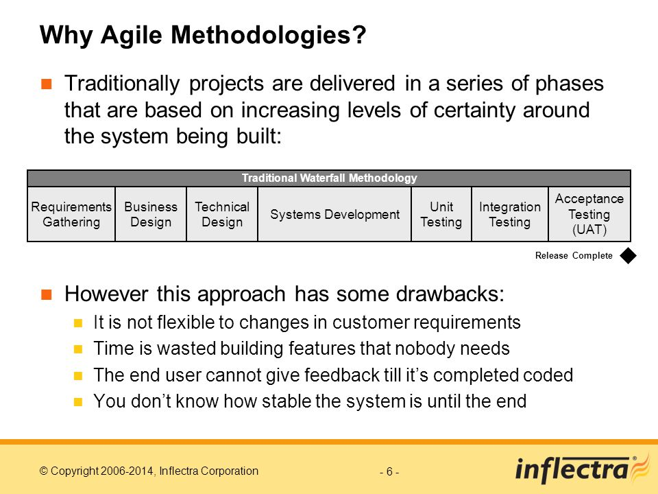 Why Agile Methodologies