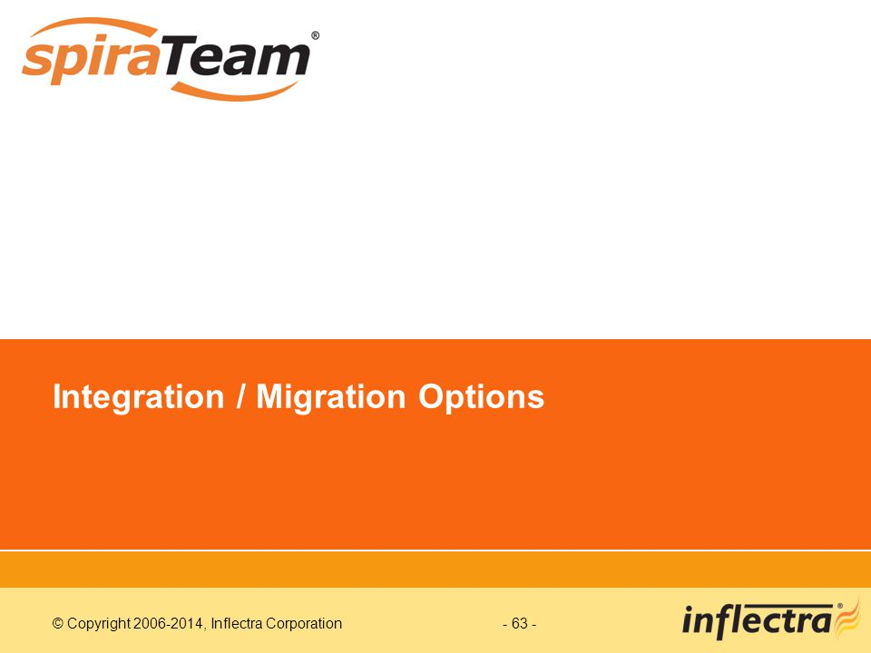 Integration / Migration Options