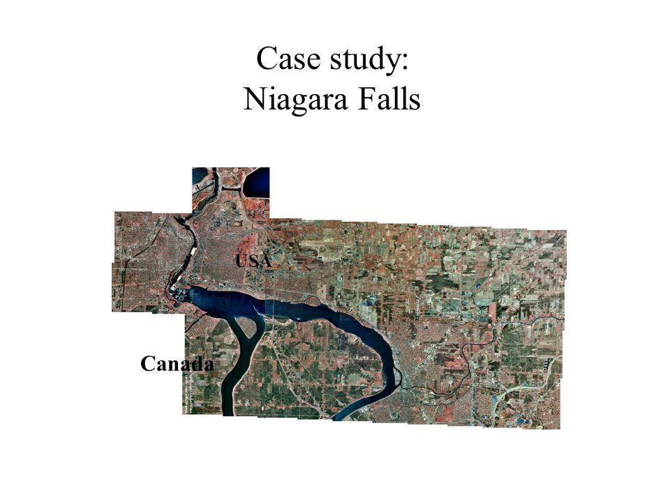Case study: Niagara Falls USA Canada