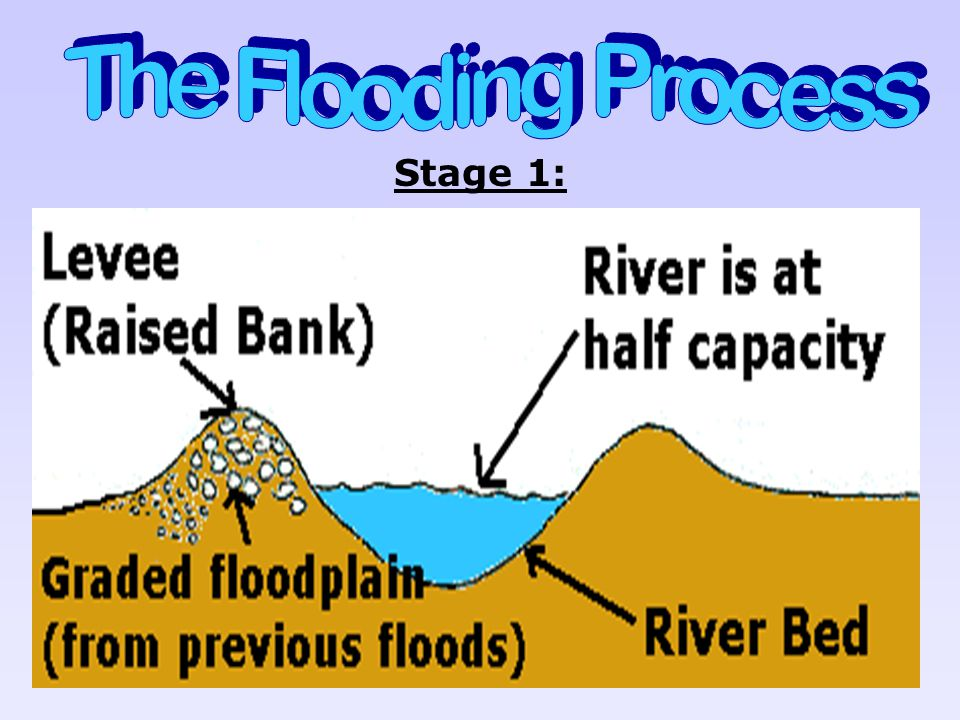 The Flooding Process Stage 1: