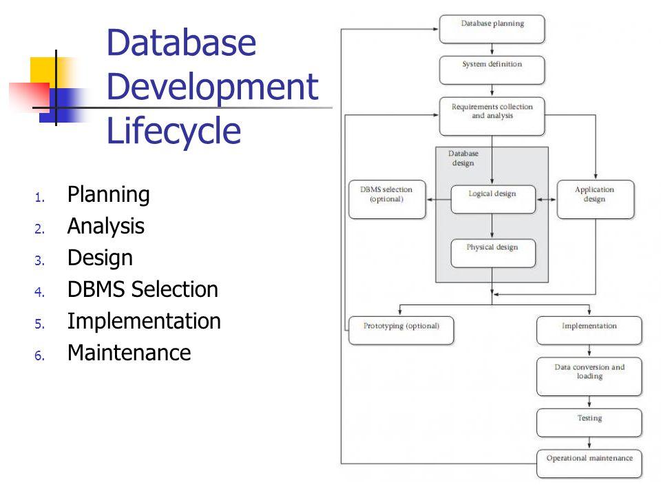 Database Development Lifecycle