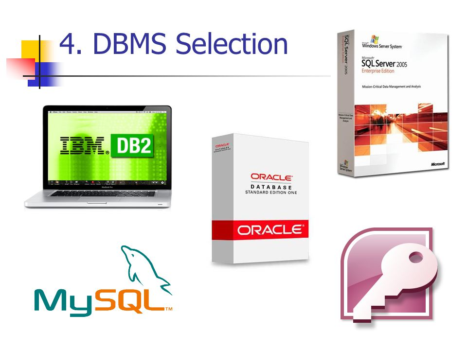 4. DBMS Selection
