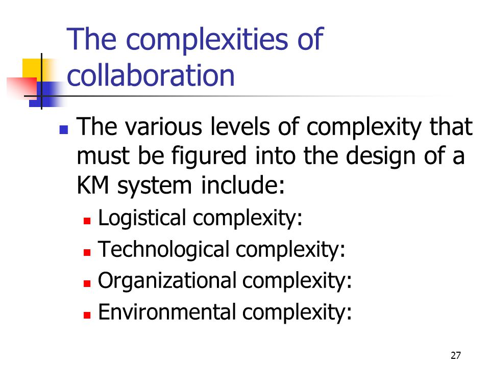 The complexities of collaboration