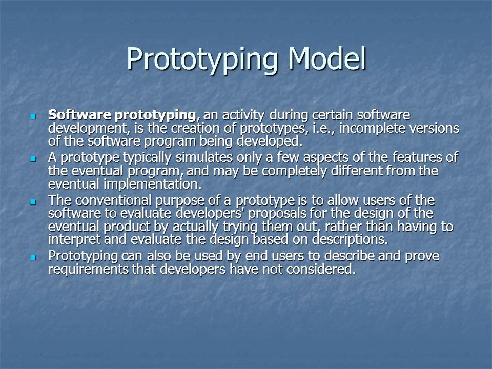 Prototyping Model