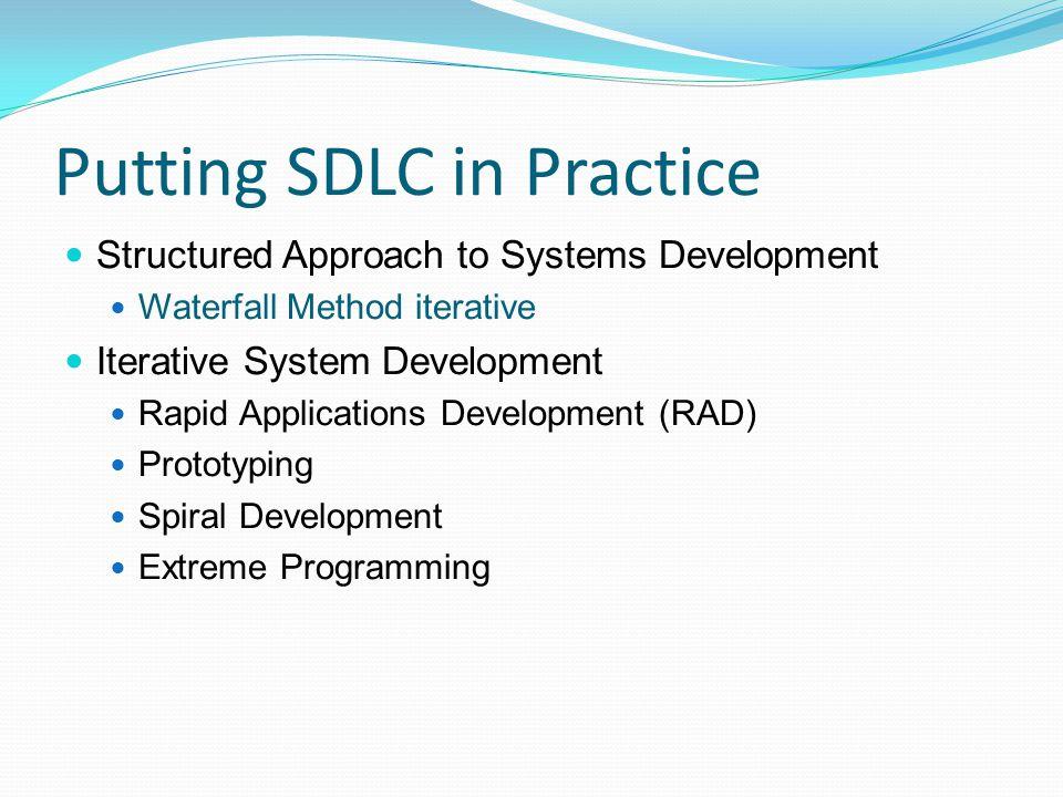 Putting SDLC in Practice
