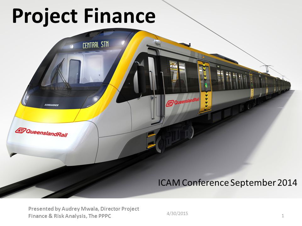 Project Finance ICAM Conference September 2014