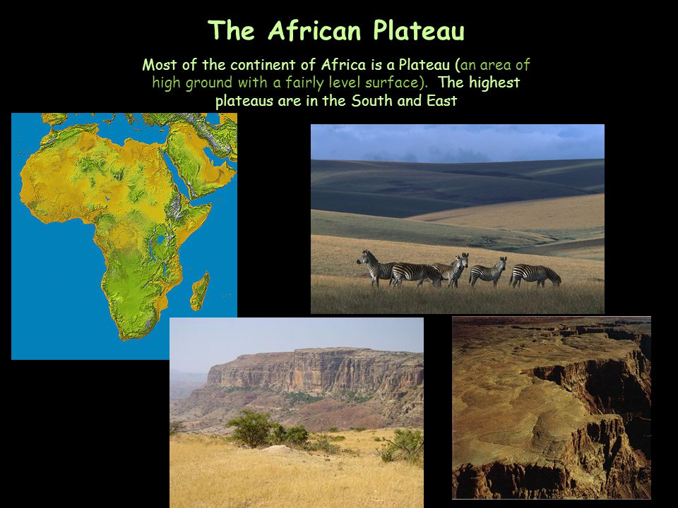 The African Plateau