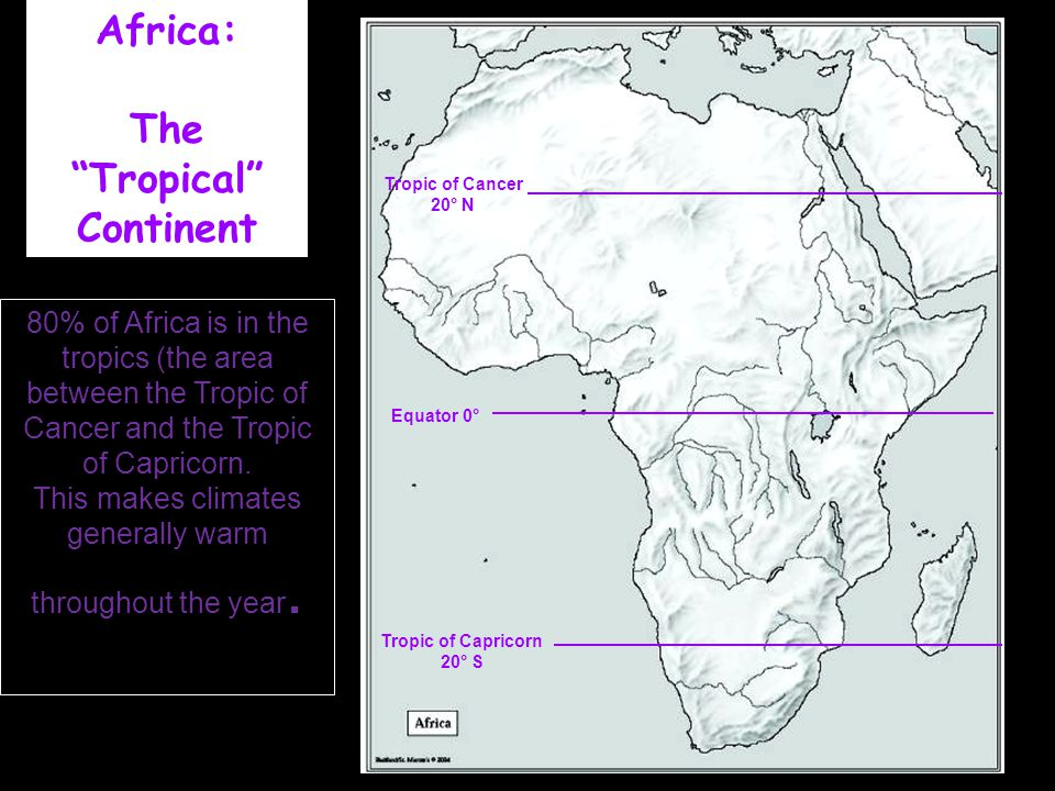 Africa: The Tropical Continent