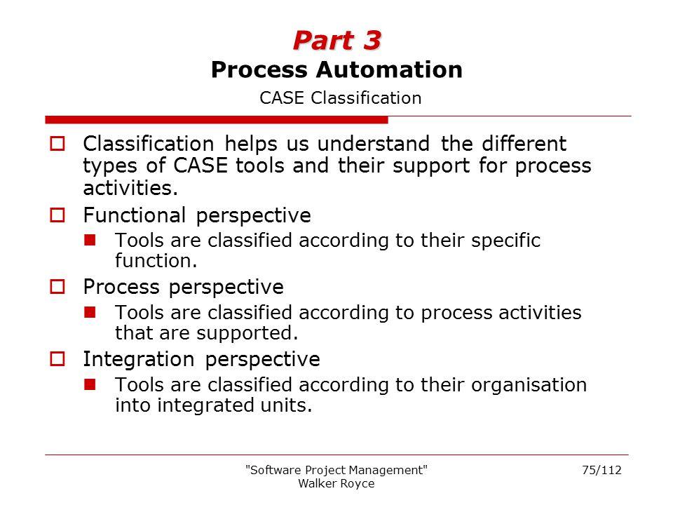 Part 3 Process Automation CASE Classification