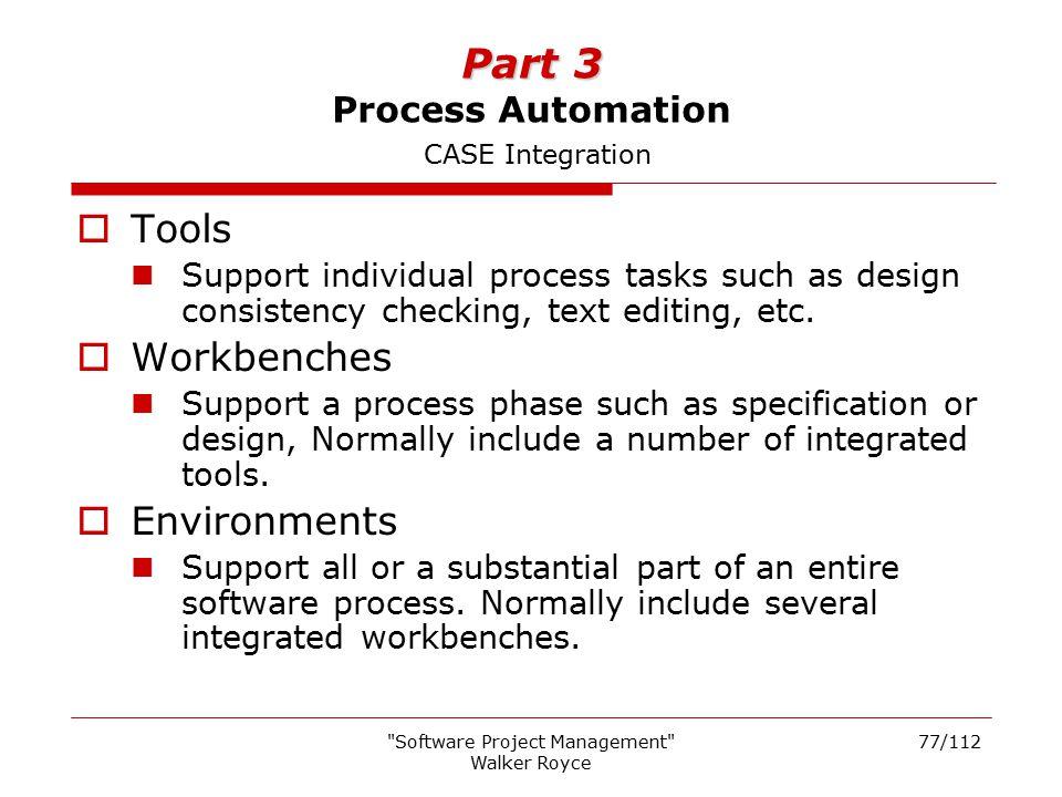 Part 3 Process Automation CASE Integration