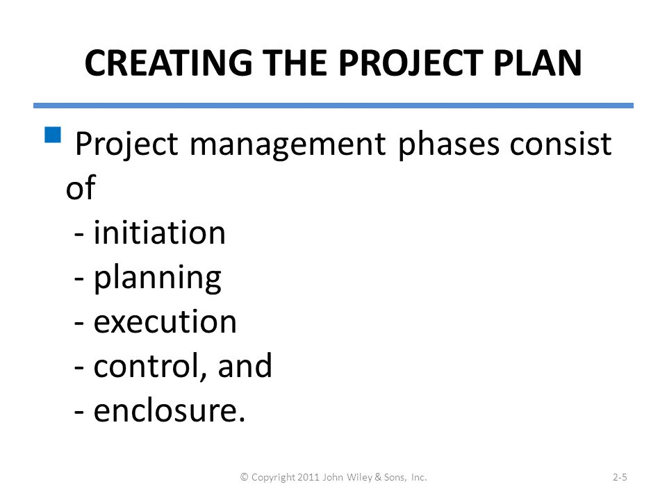 Project Methodology Options