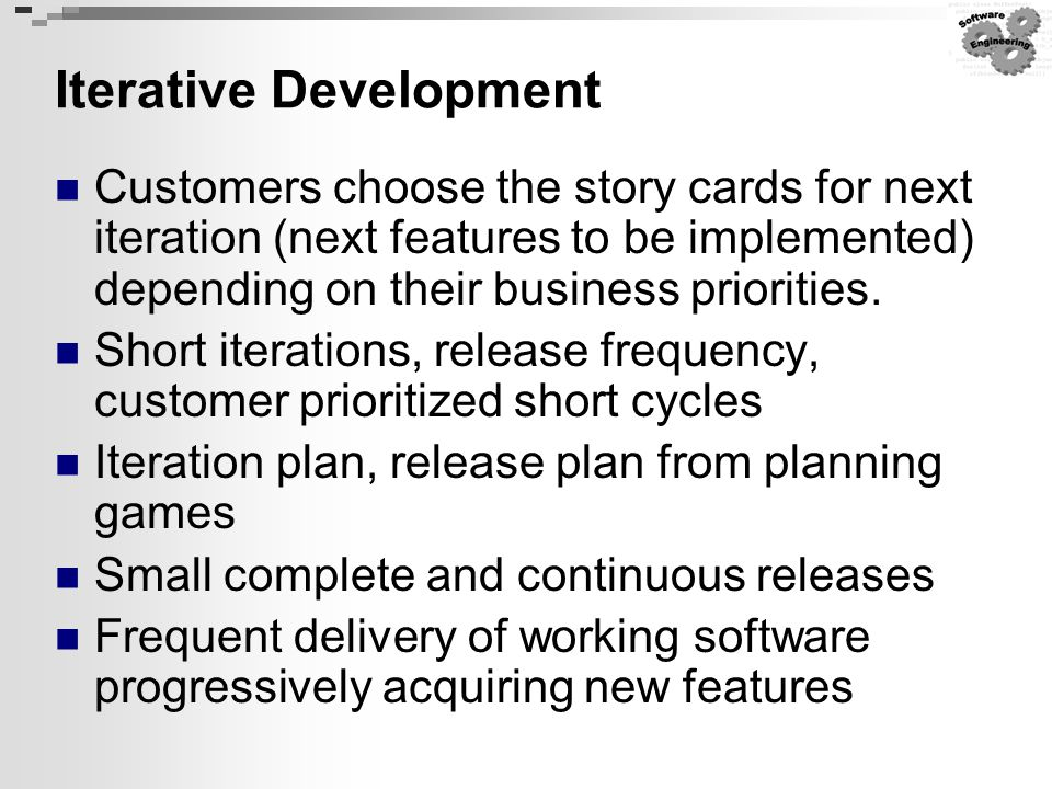 Iterative Development