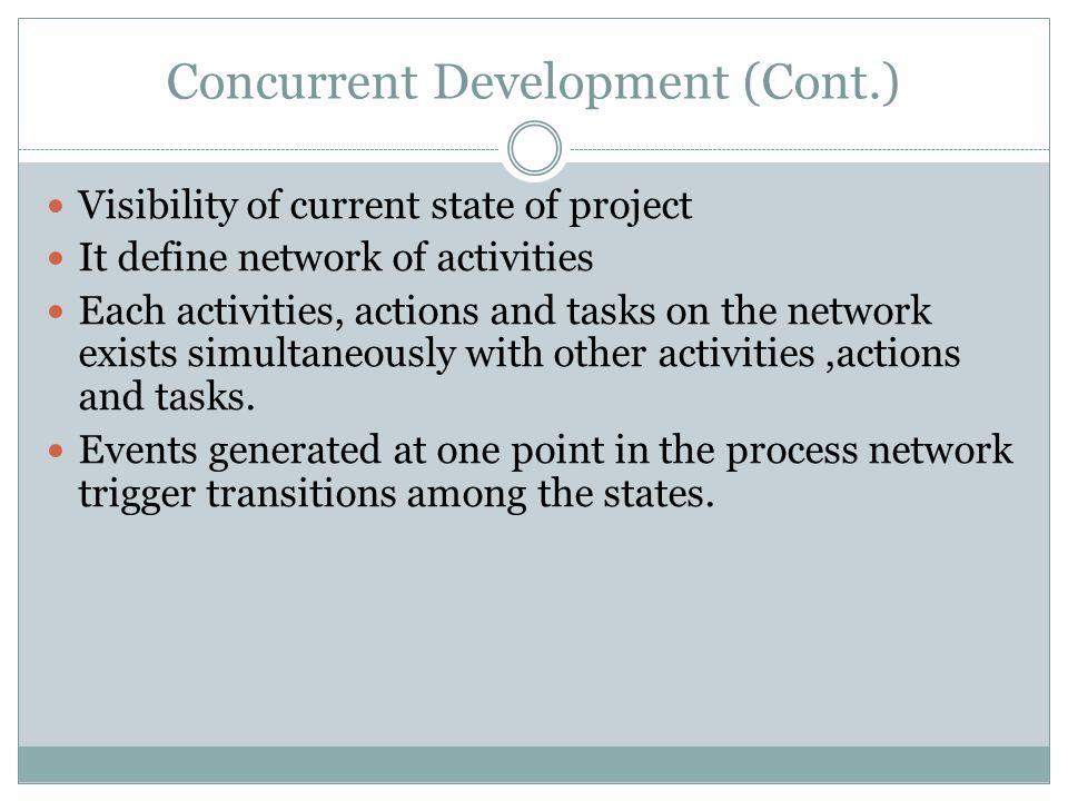 Concurrent Development (Cont.)