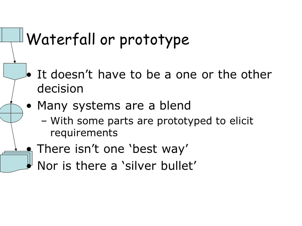 Waterfall or prototype