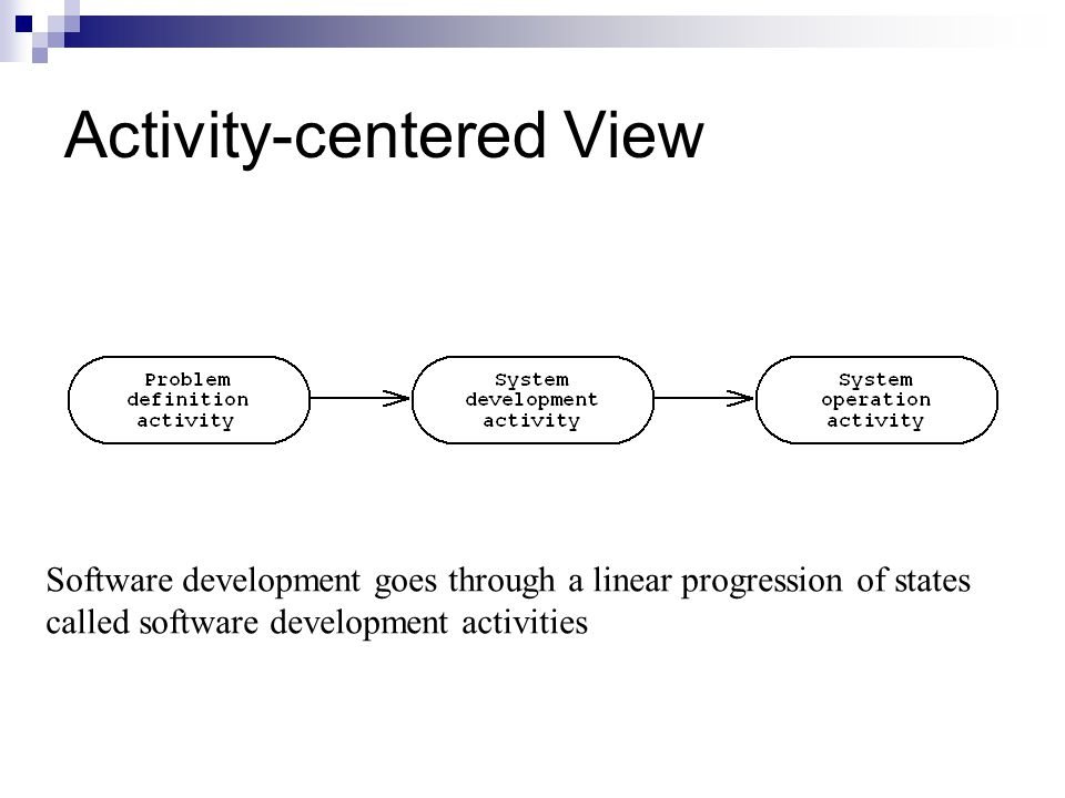 Activity-centered View