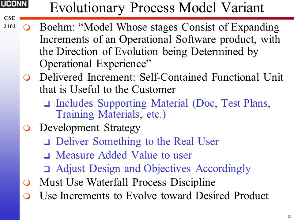 Evolutionary Process Model Variant