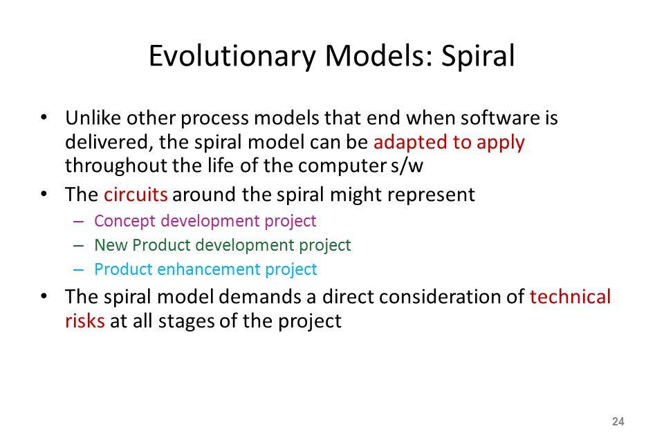 Evolutionary Models: Spiral