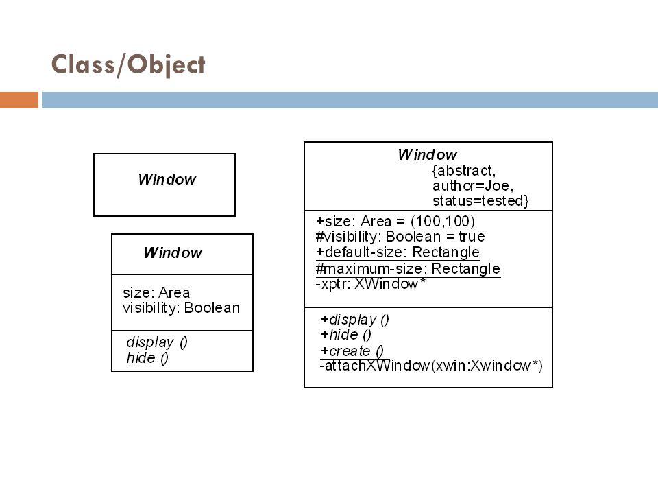 Class/Object