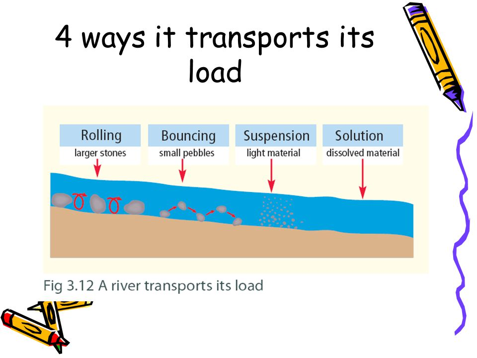 4 ways it transports its load