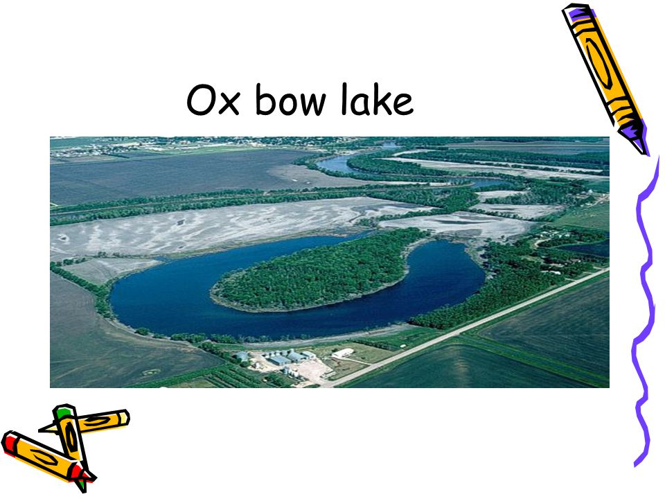 Ox bow lake