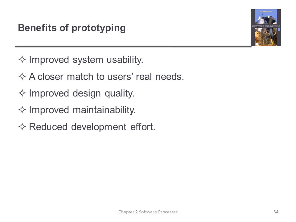 Benefits of prototyping